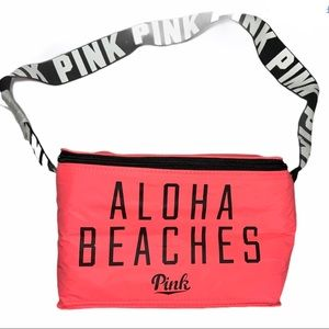 Pink Aloha Beaches Lunch Bag